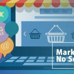 marketing digital, teclado, compras